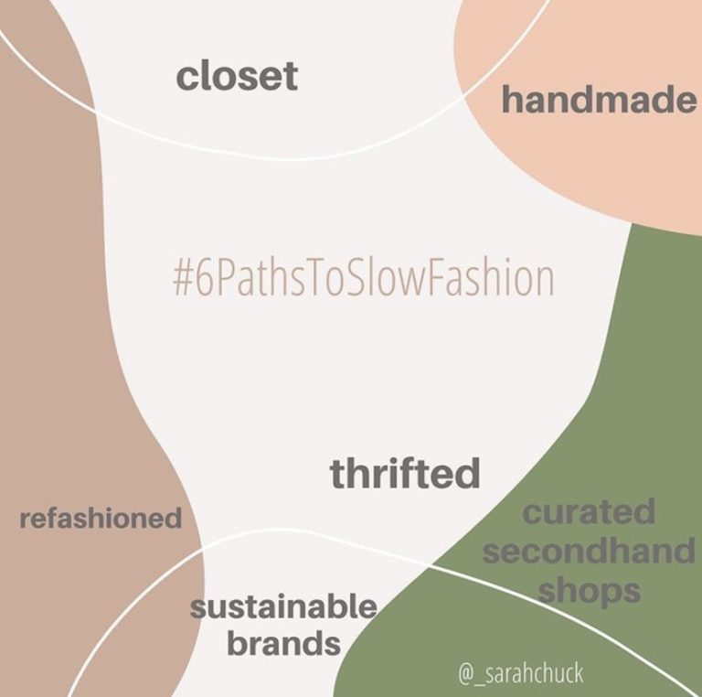 6 Paths To Slow Fashion
